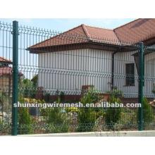 Powder Coated Welded Yard Fence Panels