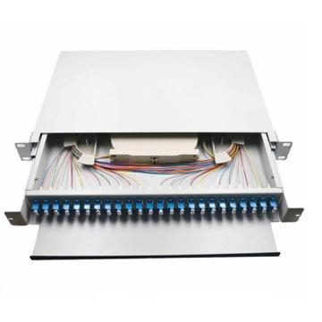 48 Port LC Fiber Patch Panel