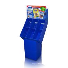 Servierbare Karton-Display-Mülleimer mit 6 Einheiten, Pop-Wellpappe
