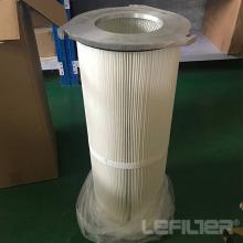 Cartouche de filtre à poussière en aluminium à trois tours