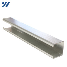 Hot Dip Galvanized Perforate Channel Iron Specification, Gi Lipped Channel Steel