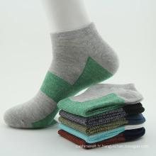 Chaussettes de sport en coton pour hommes (WA200)