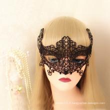 Sexy halloween dentelle en tissu de renard masque animal