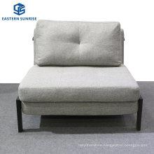 Multi Function Folding Single Sofa Bed with Ottoman Sleeper Adjustable Backrest Lounger