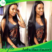 100%Unprocessed Straight Brazilian Hair Human Virgin Hair Extension