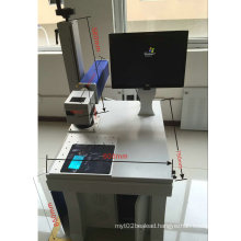 China Low Price Fiber Laser Marking Machine with ISO/Ce
