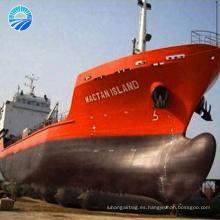caucho inflable Dia1.5x12 m 7 capas bote salvavidas Navy airbag