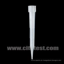 Ponta de pipeta de plástico para tipo Eppendorf (36010300)