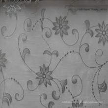 Fourniture 100% Polyster Flocking Yarn Fabric