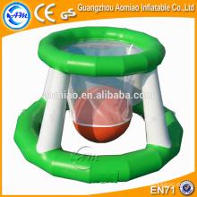 Sports nautiques gonflables, jeux gonflables de jeux de basket-ball d'eau