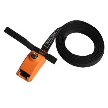 Lockable Tie Down Strap With Steel Core