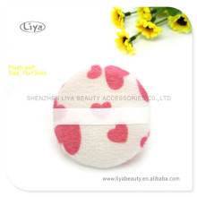 Wholesale Colored Powder Puff Custom Size