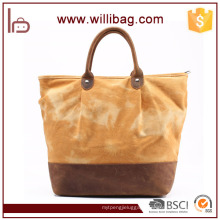 Canvas Printing Tote Bag Newest Pictures Lady Fashion Handbag