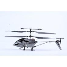 Moda diseño 3.5ch RC helicóptero con giroscopio plata
