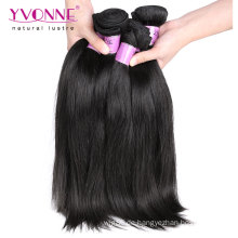 100% menschliches Haar gerade malaysisches reines Haar