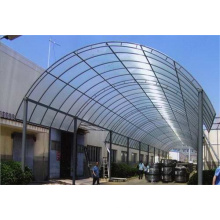 Водонепроницаемая сталь Sunshade PC Panel Shed Canopy