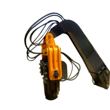 Hidrolic Static Pile Driver Machine Korea Vibro Hammer