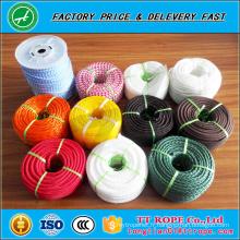 Corde de polyester tressée double prix usine