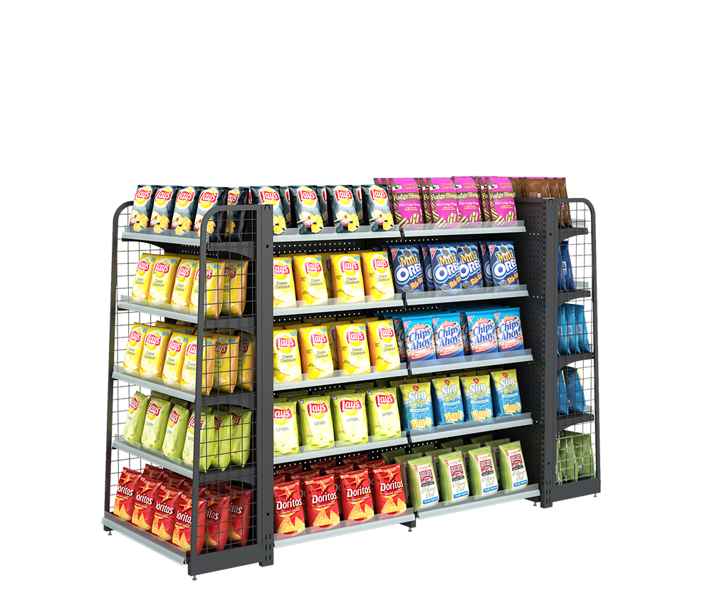 Supermarket Display Stand