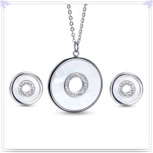Fashion Accessories Fashion Jewelry Stainless Steel Jewelry Set (JS0257)