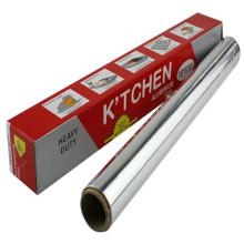 Uso de uso doméstico Embalagem de alimentos 8011 Folha de alumínio