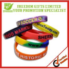 Bracelet en silicone personnalisé de qualité supérieure promotionnel
