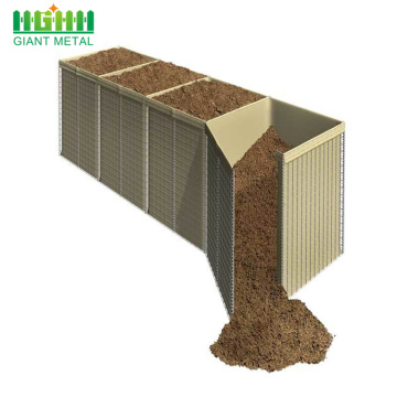Mur de sable militaire Hesco Mur Hesco Barrier