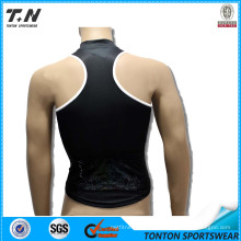 Man Muslce Fit Shirts Sport Tank Bodybuilding Mens Tank Tops