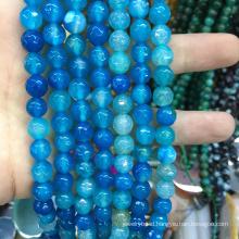 crystal quartz 8mm faceted round gemstones jade stone jewelry beads