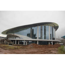 Предварительная сборка нового стиля Стальная конструкция Рамка для баскетбольного стадиона