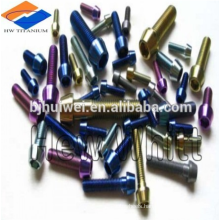 high strength M6 titanium bolt for bicycle