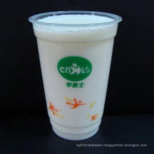 Clear Disposable Transparent Plastic Bubble Tea Cups