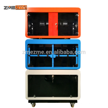 2018 Mobile Tablet Charging Carts Metal Dolly Laptop Computer