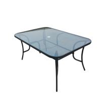 Verre de table à manger-clear de mobilier d'extérieur