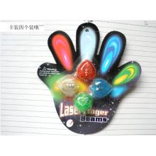 Magique doigt LED lumineux pour décoration de fête de Noël