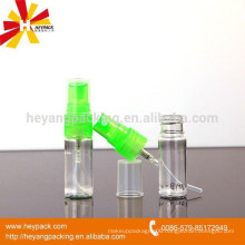 small spary pump with small plastic bottle
