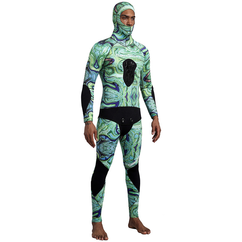 Neoprene Hunting Hooded Wetsuits