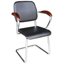 black PU kitchen chair