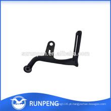 Protetor do assoalho do pé da cadeira de carimbo de alumínio preta