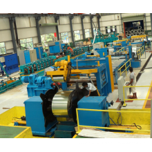 Máquina de recuo e corte de bobina de aço de precisão de 6 mm