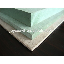 water-proof mdf board/water resistant mdf board/waterproof green mdf