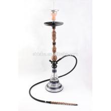wooden stem water pipe hookah shisha