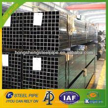 ASTM A53 tube en acier au carbone carré soudé