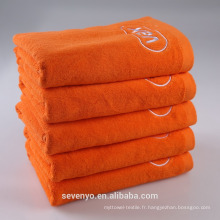 Serviettes de bain de serviette softextile 100% coton égyptien pas cher avec logo personnalisé brodé BtT-184 Chine Fournisseur