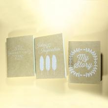 Eco-Recycling-Spiralblock mit gelbem Papier, Wholesale Student Notebook Paper
