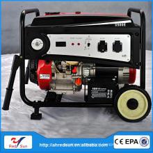 5KW/220V Stainless Steel 8hp diesel engine generator ohv 6500