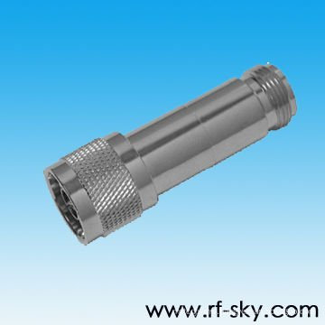 DC-6GHz Frequency Range 30dB Attenuation values N type rf Coaxial Attenuators