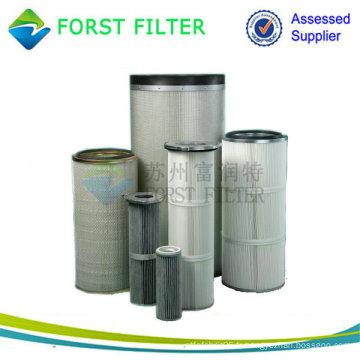 Filtre à air industriel Filtre à filtre anti-poussière Choix de la qualité des cartouches