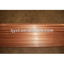 tubo de liga de cobre