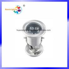 Éclairage sous-marin de 3W LED avec l'acier inoxydable 304 de Dia-Casting